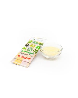 Ceai verde instant cu Green Sugar si colagen (10 stickuri)