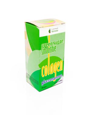Smoothie cu Green Sugar, Colagen + Glucomannan