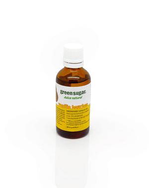 Green sugar lichid cu aroma de vanilie bourbon