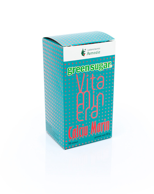 Green Sugar Vitaminera + Calciu Marin (10 stickuri)
