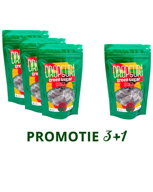 PROMO 3+1: Dropsuri Green Sugar (Cafea)