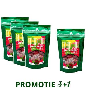 PROMO 3+1: Dropsuri Green Sugar (Capsune)