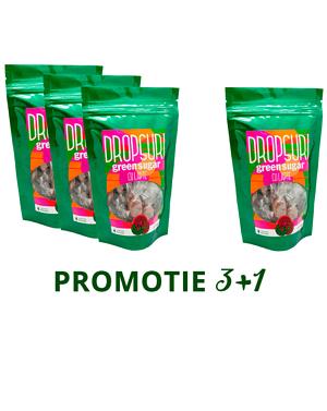 PROMO 3+1: Dropsuri Green Sugar (Lapte)