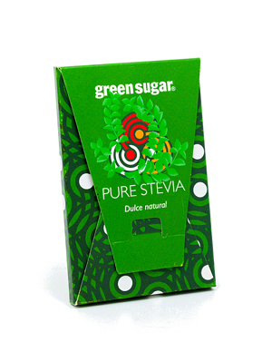 Green Sugar Pure Stevia (2 plicuri)