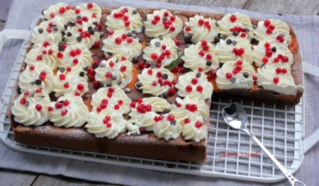 prajitura cu caise si coacaze rosii6